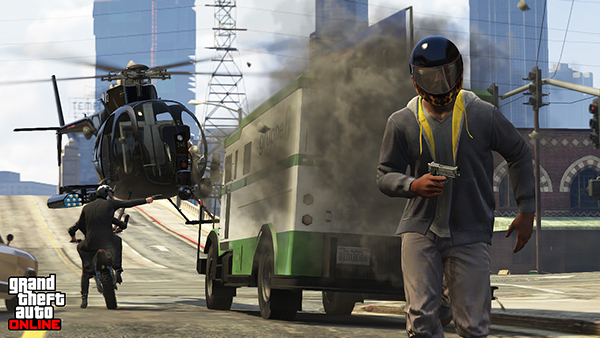 GTA-Online-Armored-Truck-Robbery-Screenshot